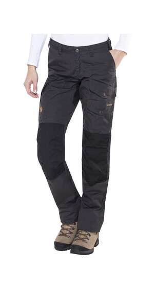 Fjällräven Barents Pro Trousers Women Dark Grey/Black